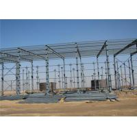 China Prefabricated African long-span galvanized steel structure building warehouse on sale
