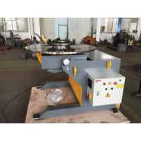 China VFD Control Elevating Welding Positioner 3 - Jaws Chuck 3 Ton Capacity on sale