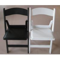 China White Plastic Folding Chair/ Party Folding Chair/ Wedding Chair/White Wooden Chair on sale