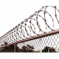 Hospitals / Military Sites Stainless Steel Razor Wire Sun Resistant Anti Rust Manufactures