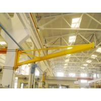 China Electric Travelling Double Girder Overhead Crane , Wall Mounted Jib Crane on sale