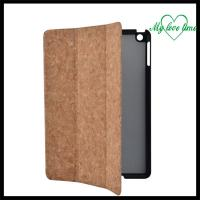 Brown Pu Material Case For Ipad Air With Three Flods Manufactures