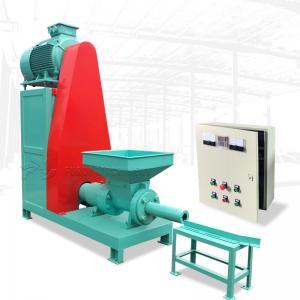 Mechanical Sawdust Briquette Machine / Charcoal Briquette Extruder Machine  250kg/H Manufactures