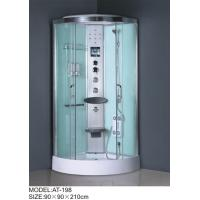 Medium Jets quadrant shower cabin , all in one shower enclosure Electronic system Manufactures