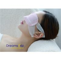 Disposable Unscented Moisturizing Steam Eye Mask Self Heated Relax Sleep SPA vapour Manufactures