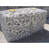 Galfan Coated Rock Cage Retaining Wall 2 X 1 X 1M For Decorate Garden / Park Manufactures