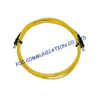 Singlemode LSZH Jacket Fiber Optic Patch Cord Simplex / Duplex FC / UPC Manufactures