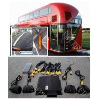 HD Bus Camera System Seamless 360 Degree Bird View With Driving Video Recording and IR Manufactures