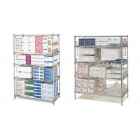 "42"" x 60""  Commercial Wire Shelving Pharmacy Storage Racking Solutions Manufactures"