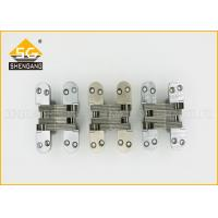 Indoor Use 180 Degree Concealed Hinges For Wood Door , 116*27.8*41mm Manufactures