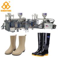 Rain / Water Boot / Gumboot/ mineral worker boot Dual Injection MoldingMachine Rotary Type Manufactures