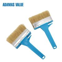 China Ceiling Brush Natural Bristle Paint Brush  Boild Pure Bristles 44mm Length on sale