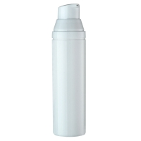 China 30ml 50ml 75ml Snap On White Airless Pump Bottle on sale