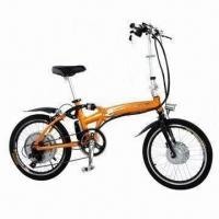 China Electric Bike with Rack Locating Battery of 24/36V, Brushless Gear Hub Motor on sale