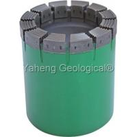 China 1 - 12 Hardness HQ Diamond Drill Bit / Nq Core Diameter With Reaming Shell  on sale
