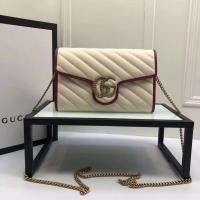 【GUCCI】  Gucci  Lovely little strawberry  Multi-functional single shouldered chain bag can be used as a handbag Manufactures