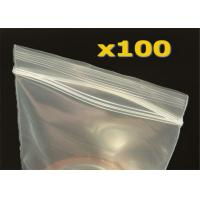 Custom Logo Design 9x12 OPP Plastic Bags Ziplock And Adhesive String Closure Manufactures