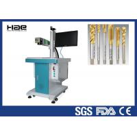 Desktop Pulsed Fiber Laser Marking Machine For Army Nameplate CE Certified Manufactures