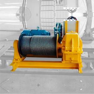 China Easy Operate High Speed 5 Ton 10 Ton Industrial Electric Winch on sale