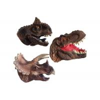 Plastic Cement Dinosaur Model Toys / Dinosaur Puppet Toy For Kids Playing Manufactures