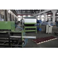 0.3-0.8 Mm Galvanized Steel PU Sandwich Panel Production Line Automatic Cooling System Manufactures