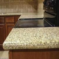 Quality Prefab Laminate Countertops, Available in Various Styles and Customized Sizes, Golden Sunset Granite for sale
