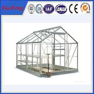 New design easy installation insulation greenhouse aluminium profiles Manufactures