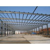 China Pre engineered commercial structural steel frame construction building steel beam braking on sale