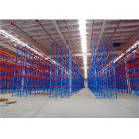 Vertical Industrial Pallet Racks Warehouse Pallet Racking System Heavy Duty for sale