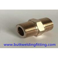 Forged Pipe Fittings Copper Nickel 90/10 Pipe Nipple Male High Pressure 4