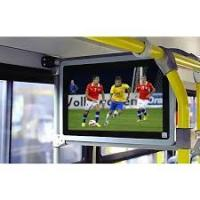 Roof Mount Android Bus Digtal Signage Advertising Screen LCD TV Monitor Display Manufactures