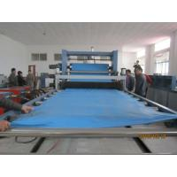 3mm PVC Plastic Sheet Extrusion Line , CE Plastic Board Extrusion Line Manufactures