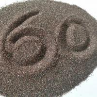 F60 P60 Brown Fused Aluminum Oxide Resin Grinding 95% Min Al2O3 Grits Shape Manufactures