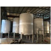 China Industrial Gasline / LPG Gas Storage Expansion Tanks With Full Parts Vertical Orientation on sale