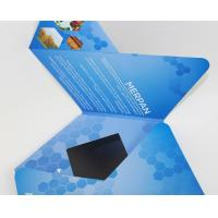 7 inch TFT Flip Book Video for Advertising , video booklet with 2G memory Manufactures
