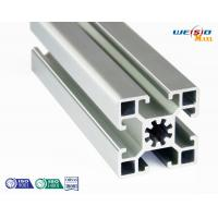 Silver Industrial Aluminum Profile Thin Wall Anodized Surface 6 Meters Length Max Manufactures