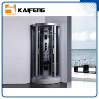 900 Quadrant Steam Shower Cabin , Shower Steam Room Enclosures With Ceiling Light Manufactures
