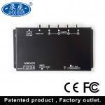 Digital 4 Camera Car DVR System / Electrical Mobile DVR Recorder DC 12V/24V Manufactures