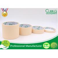 China Rubber Glue Car Painting Colored Masking Tape , Adhesive 2 Inch Masking Tape Water Resistant on sale
