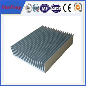 supply heat sink aluminum extrusion profiles, OEM aluminum heatsinks extrusion factory Manufactures