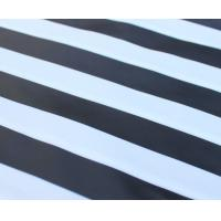 100% cotton yarn dyed Black and White stripe fabric Manufactures