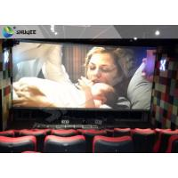 3D Glasses Screen 4D Cinema System Dynamic Movie Theater Equipment Manufactures