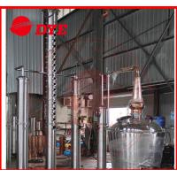 2000L Alcohol Still Kits With Water Tank / Stainless Product Condenser Manufactures