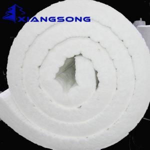 China Factory Price Alumina Silicate Needle Ceramic Fiber Insulation Blanket on sale