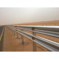 High Intensity Highway Guardrail Systems , Cold Formed Steel Guardrail Posts Manufactures