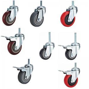 caster wheel,top plate castor,Hand cart caster,Skate castors,wheels,screw with brake caster Manufactures