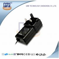 Black Switching Adapter 12v , GME Power Adapter UK Plug 47Hz - 63Hz Manufactures