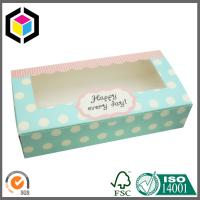 Light Blue Color Print Paper Packaging Box; Biscuit Paper Color Carton Box Manufactures