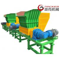 China Low Speed Heavy Duty Shredder , Industrial Plastic Shredder 880 X 861 X 510mm on sale
