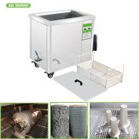 MarineIndustry Filters Vessel Ultrasonic Bath 60L 230V 60HZ Length Of 550mm For Mechanical Part, Fuel Oil Filters Manufactures